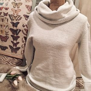 """Merona"" Light Gray Woven Sweater"